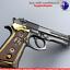 Beretta-92-Gun-Collectors-Keyring-Italian-Berretta-Pistol-Keychain-Desert-Eagle thumbnail 1