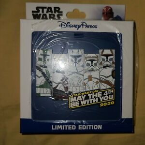Disney-Star-Wars-Clone-Trooper-Pin-May-The-4th-Be-With-You-LIMITED-EDITION-1500