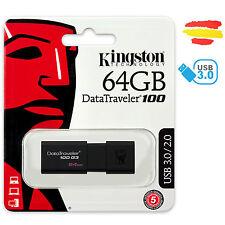 PENDRIVE KINGSTON 64GB G3 MEMORIA USB 3.0 2.0 64 GB PEN DRIVE ORIGINAL P6408