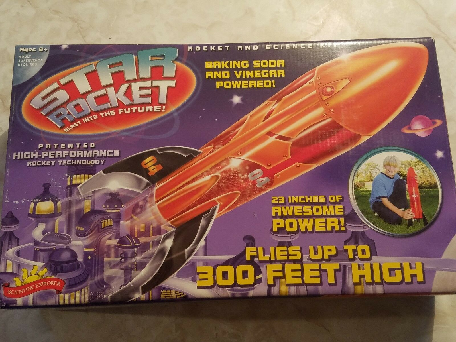 Scientific Explorer Star Rocket Science Kit     nuevo