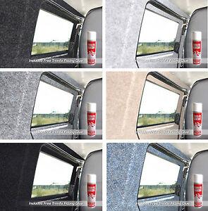 2m x 2m Choose from 30 Sizes of Silver Coloured Super Stretch Van Lining Carpet Includes 2 x Trimfix Glue