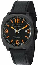 Stuhrling Original 451 33551 Men's Leisure Eagle Square Swiss Quartz Date Watch