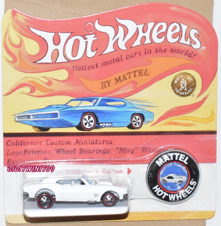 Hot Wheels Rlc Exclusif Édition Spéciale Camaro Blanc E