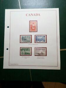 Kanada, Los Briefmarken Entwertet Und / Ou Neu, VF Briefmarke