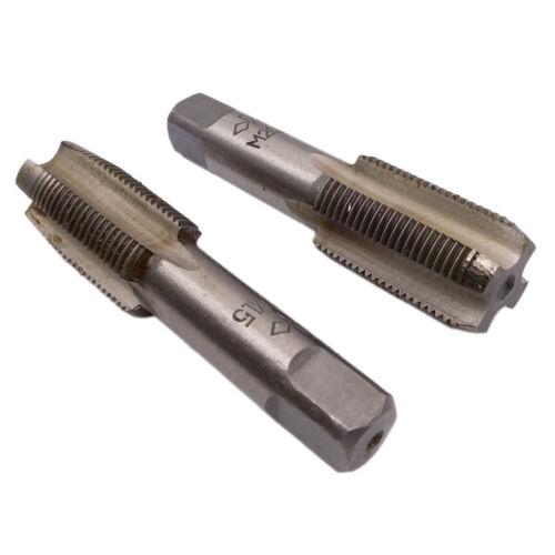 US Stock HSS 20mm x 2 Metric Taper /& Plug Tap Right Hand Thread M20 x 2.0 Pitch