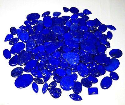 Loose Gemstone  J-137 Lapis Lazuli Cabochon  Top Grade Lapis Lazuli Gemstone  Pear Shape  52.15 Ct 48x22x5 mm