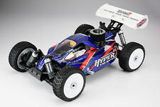 New! HOBAO HYPER 7 TQ  NITRO RTR CAR - NEW BLUE BODY (LLJSTORE)