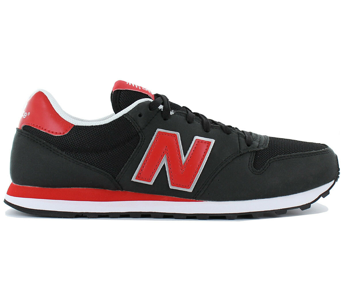 New Balance Classic 500 Trainers Men's Sneakers Shoes Black Trainers 500 Nb GM500GSB New c2b28f