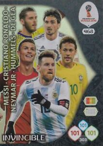Panini-Adrenalyn-World-Cup-Russia-2018-Top-Master-Game-Changer-Icon-Auswahl