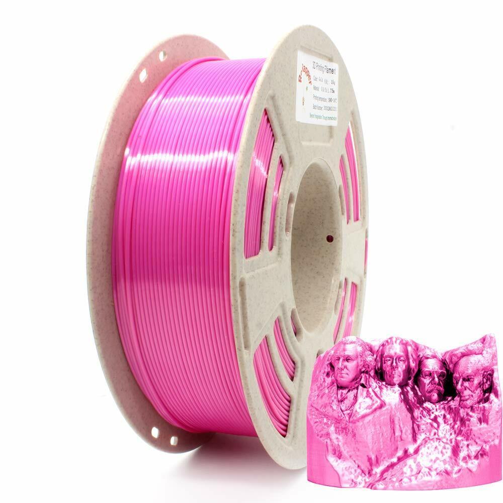 3D Printer Filament PLA SILK Pink 1.75mm 1KG/2.2LB Spool High quality