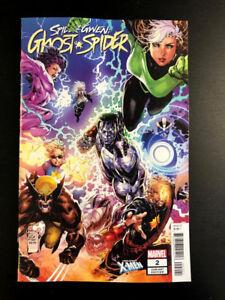 SPIDER-GWEN-GHOST-SPIDER-2-Tan-Uncanny-X-Men-Variant-Spider-Geddon-Marvel-NM