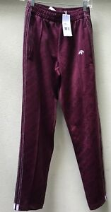 15643a1ceab6 Image is loading Adidas-Alexander-Wang-Maroon-Icon-CF1085-Tracksuit-Pants-