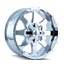 Mayhem-Tank-8040-Chrome-20x9-12mm-8x170-8x165-1-Ford-Dodge-Ram-8-lug miniature 1