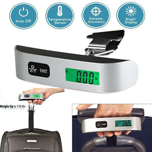 110Lb-50kg-Portable-Travel-LCD-Digital-Hanging-Luggage-Scale-Weight-Electronic
