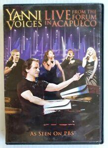dvd yanni voices live in concert