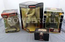 Star Wars Qui Gon Jinn Obi Wan Kenobi Destroyer Droid Alarm & Darth Mauls Bike