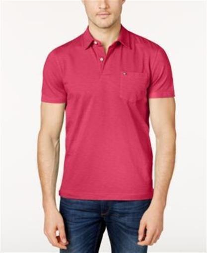 Tommy Hilfiger NWT Men/'s WSTCOASTR2 Azalea 100/% Cotton Polo Shirt Free Shipping