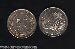 elf Singapore 50 Cents 1976  Lionfish  Fish