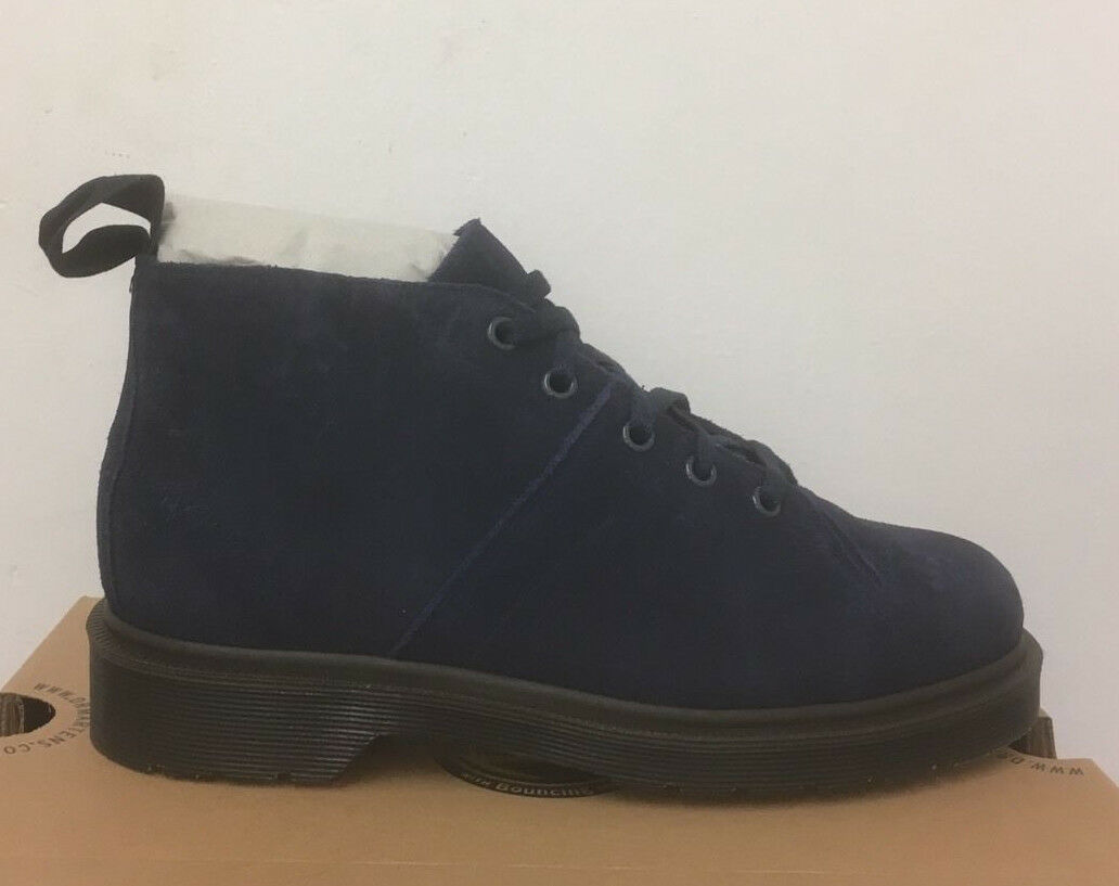DR. MARTENS CHURCH NAVY BLU MARIN HI SUEDE SIZE WP   Stiefel SIZE SUEDE UK 3 a4d7fd