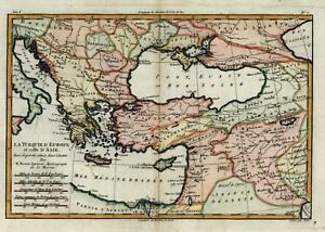 Ottoman-Empire-Turkey-Anatolia-Greece-Levant-Black-Sea-1780-Kurdistan-map