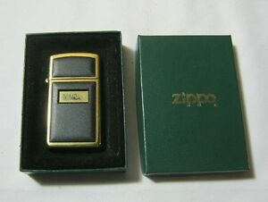 Zippo 1993 Gold Tone Lighter w/ Box T*