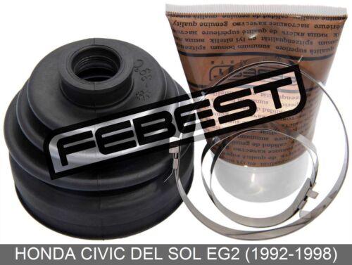 1992-1998 Boot Outer Cv Joint Kit 77X86X19.5 For Honda Civic Del Sol Eg2
