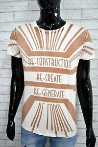 Maglia-Uomo-DIESEL-Taglia-Size-L-Polo-Manica-Corta-Shirt-Herrenhemd-Stampa