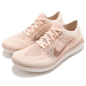 c74f78263ff1 Nike Wmns Free RN Flyknit 2018 Guava Ice Beige Women Running Shoes ...