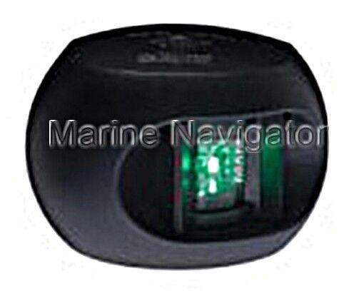 AQUASIGNAL 34 LED-Steuerbord schwarz schwarz schwarz 12/24V 66677e