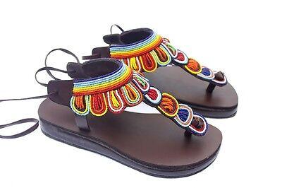 Maasai sandals/' women sandals /'leather sandals
