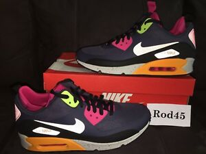 pretty nice 96f49 ab0a5 Image is loading Nike-Air-Max-90-Sneakerboot-NS-Boot-Grey-
