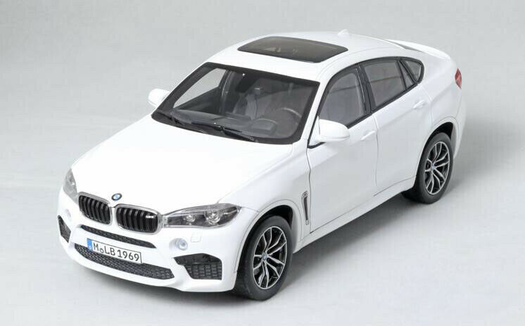 NOREV 1 18 Alloy die casting car model BMW X6M Gift collection bianca