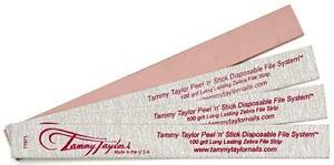 Tammy-Taylor-Nail-Peel-039-N-039-Stick-Disposable-Zebra-File-100grit-Pack-of-10ct