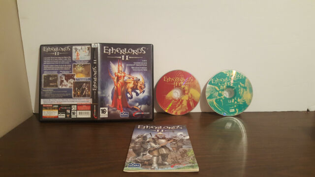 Etherlords II (PC, 2003)  COMPLETE french PAL version  no key