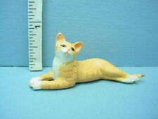 Miniature Stealth Cat #A66OR Orange /& White Falcon Miniatures 1//12th Scale