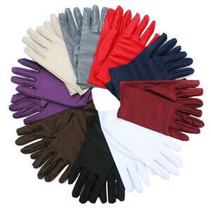 Women-Gloves-Spandex-Sunscreen-Elasticity-Etiquette-Short-White-Gloves