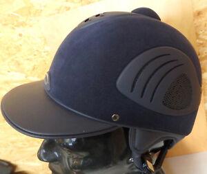 Kavalkade-Reithelm-Aero-Cool-blau-Gr-53