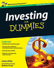 Investing For Dummies by Barbara Drury, James Kirby (Paperback, 2009)