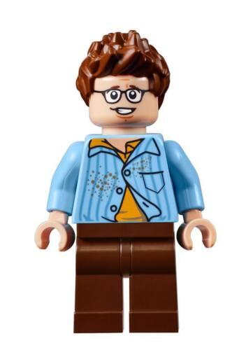 """neu LEGO Minifigur /""""Louis Tully/"""" aus Ghostbusters Set 75827"""