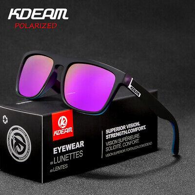Audace Occhiali Da Sole Polarizzati, Kdeam Hd, Protezione Uv 400, Per Uomo E Donne.