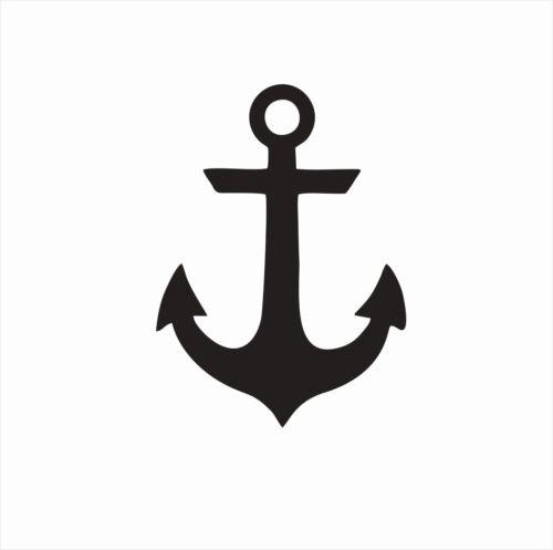Anchor Sea Naval Sailing Vinyl Die Cut Car Decal Sticker-FREE SHIPPING