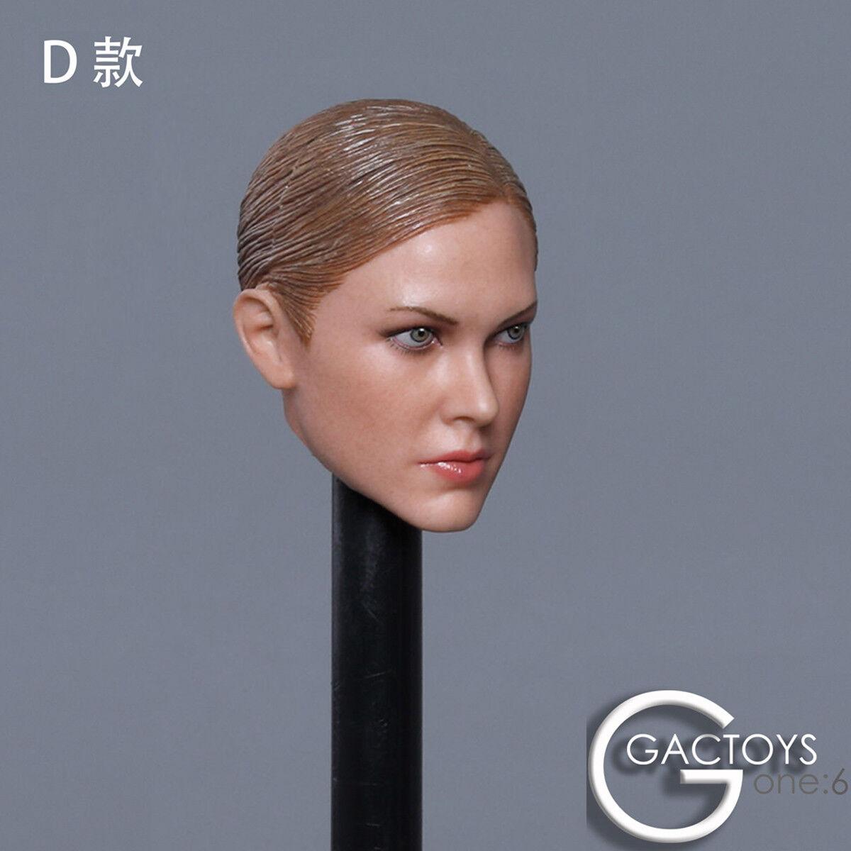 GACTOYS GC022D1 6 Scale Female Head Sculpt fit for 12  Action Figure