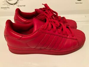 Red Shell toe Sneaker Sz 9 Mens   eBay