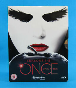 Once-Upon-A-Time-Seasons-1-5-Blu-Ray-Box-Set-25-Discs-UK-Import
