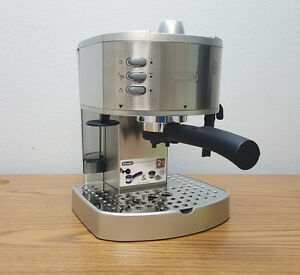 Delonghi Coffee Maker Ec330s User Guide : DeLonghi EC330S 15 Bar Pump Espresso And Cappuccino Maker, Stainless 5055257316096 eBay