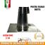 FALDALE-DRITTO-PER-TETTO-PIANO-130-MM-IN-ACCIAIO-INOX-AISI-304-CANNE-FUMARIE miniatura 1