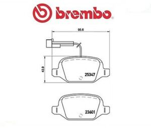 P23146-G-Kit-pastiglie-freno-Freno-a-disco-MARCA-BREMBO