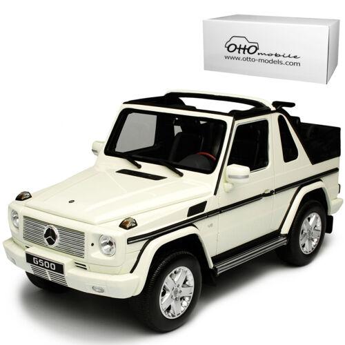 Mercedes-benz G-Clase convertible blanco w460 a partir de 1979 nr 275 1//18 otto modelo auto mié
