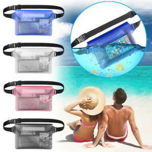 Waterproof-Pouch-Dry-Bag-Fanny-Pack-Waist-Strap-Underwater-Swimming-Phone-Pocket