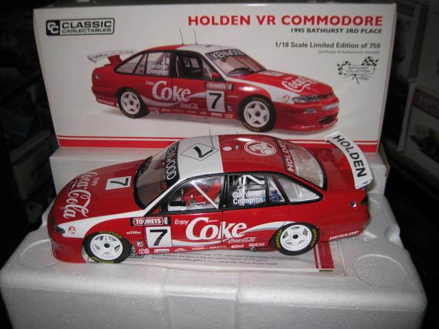 CLASSIC 1 18 HOLDEN VR COMMODORE COKE 1995 BATHURST 3rd GARNNER  CROMPTON  18565